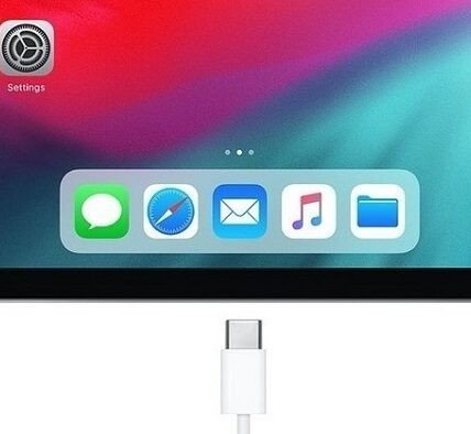 Ускоренная зарядка iPad Pro2020 от 35Wt